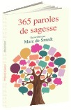 Vente Livre : 365 Paroles de sagesse  - Marc de Smedt