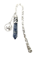 Vente Articles : Marque-page Horoscope : Sagittaire (Sodalite)  - Mainela Créations