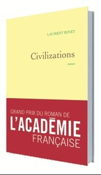 Vente Livre : Civilizations  - Laurent Binet